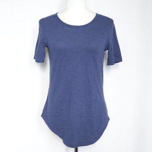 Lululemon Blue Short Sleeve Tee  size 6